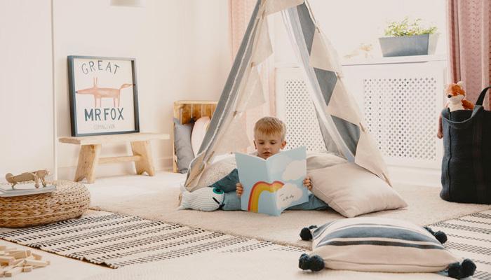 lieu pour lire avec son enfant